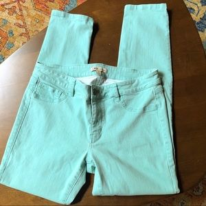 CAbi thin mint jeans #322